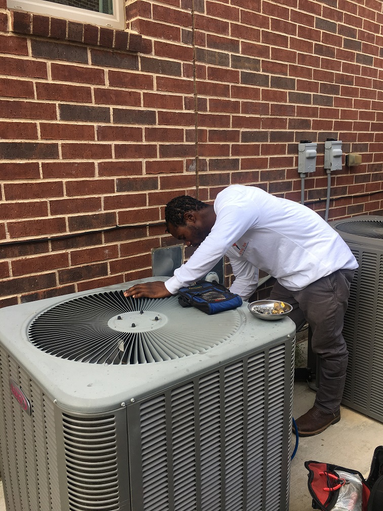 Condenser Fan Replacement